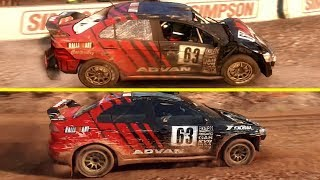 DiRT 2.0 vs Colin McRae DiRT 2 Graphics Comparison