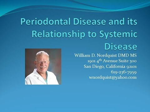 Periodontal Disease and its Relationship to Systemic Disease