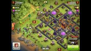 Clash of Clans Attacks - 50,000 Subscriber Special!