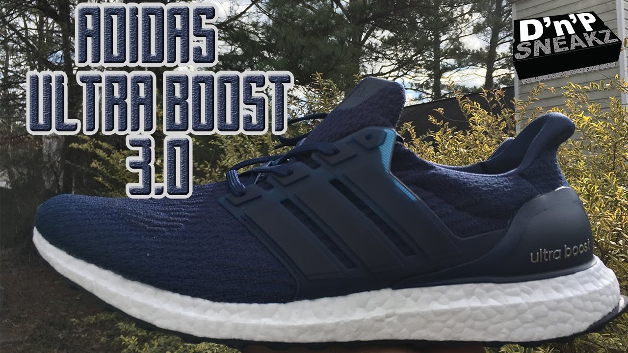 more photos c144a 29215 adidas ultra boost 3.0 navy