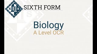 A Level Biology Induction