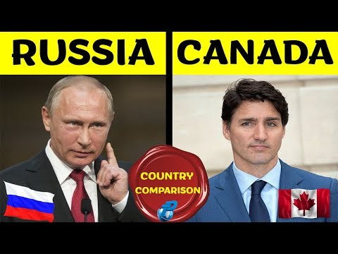 Placify: Russia Vs Canada | Country Comparison | रशिया Vs कॅनडा 2020