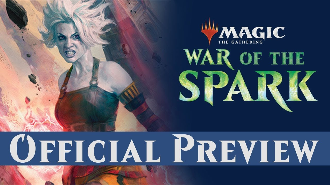 Official War Of The Spark Preview Card Nahiri Storm Of Stone Youtube