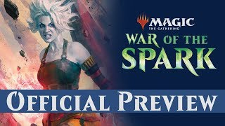 Official WAR OF THE SPARK Preview Card - Nahiri, Storm of Stone