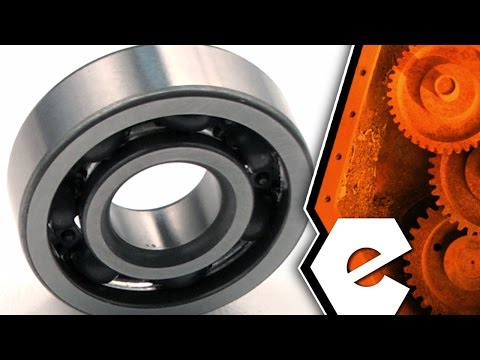 Trimmer Repair - Replacing the Crankshaft Bearing (Echo Part #  9403536201)