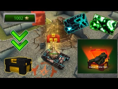 Tanki Online - 1000 Stars In 24 Hours!  - Completed Skin Container Challenge!  Танки Онлайн