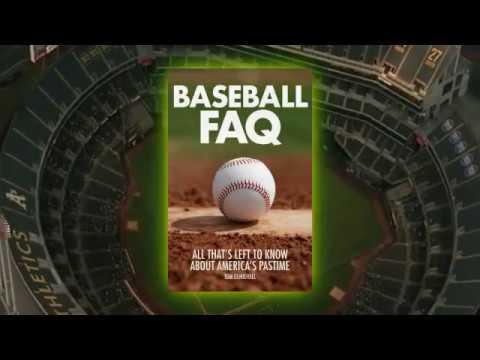 New Book! Baseball FAQ from Hal Leonard Publishing