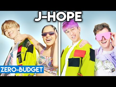 K-POP WITH ZERO BUDGET! (j-hope 'Chicken Noodle Soup feat. Becky G')