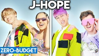 Download lagu K-POP WITH ZERO BUDGET! (j-hope 'Chicken Noodle Soup feat. Becky G')