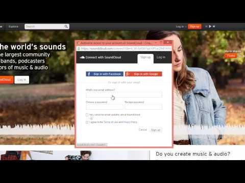 How to record your voice with soundcloud