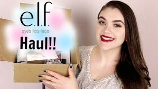 elf Unboxing Haul! New Products! June 2016