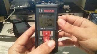 видео Лазерный дальномер Bosch dle 50 (лазерная рулетка dle 50 bosch)