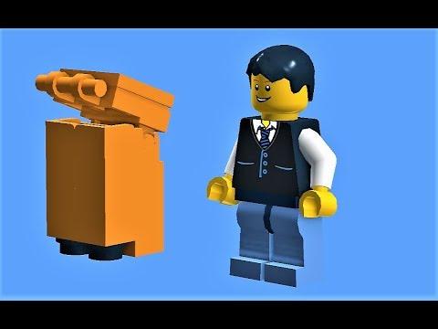 Tutorial - Lego trash can (model 1) - YouTube