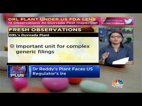 DRL Plant Under USFDA Scanner