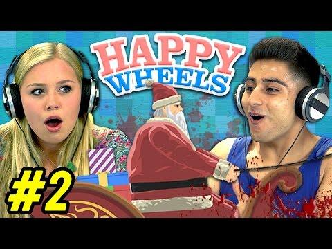 HAPPY WHEELS 2 Teens React: Gaming