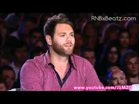 Brian McFadden tells off a contestant on Australia's Got Talent 2012 - Owen Campbell