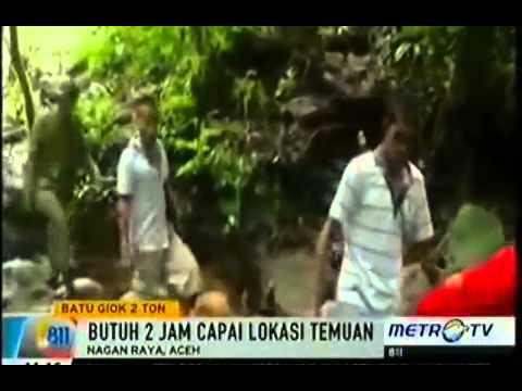 Find Gemstone 20 Tons in Aceh Indonesia Worth 30 Billio