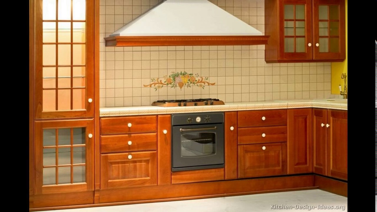 India kitchen cabinet designs - YouTube