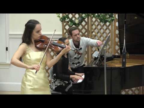 """Postcards from the 1930's"" (Ketty Nez) - Kinga Augustyn, violin; Kalina Mrmevska, piano."