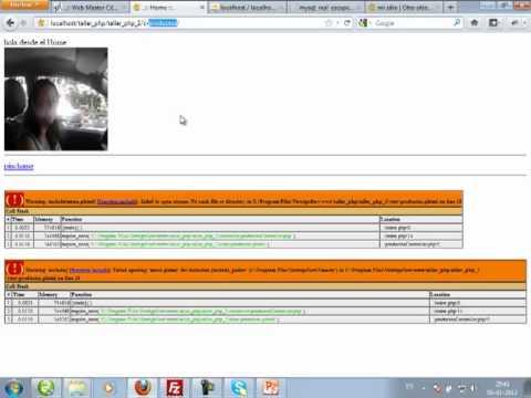 VideoTutorial 2 del Taller Práctico de PHP y MySQL