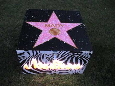 Lighted Cheer Box at Night, available from Wicket Graphics by James