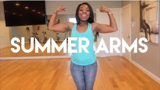 SUMMER ARMS!!- Easy workouts to tone those arms for the summer baby!