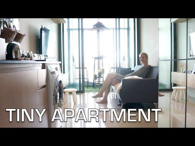 Small Apartment Space Home Tour Interior Design Ideas Bangkok Youtube