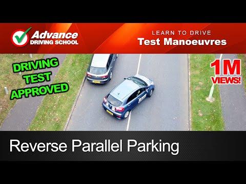 Reverse Parallel Parking Manoeuvre  |  2019 UK Driving Test