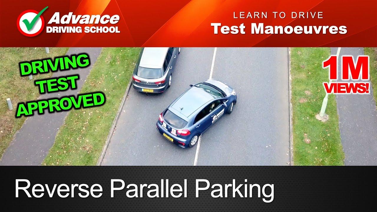 Reverse Parallel Parking Manoeuvre 2019 Uk Driving Test Youtube