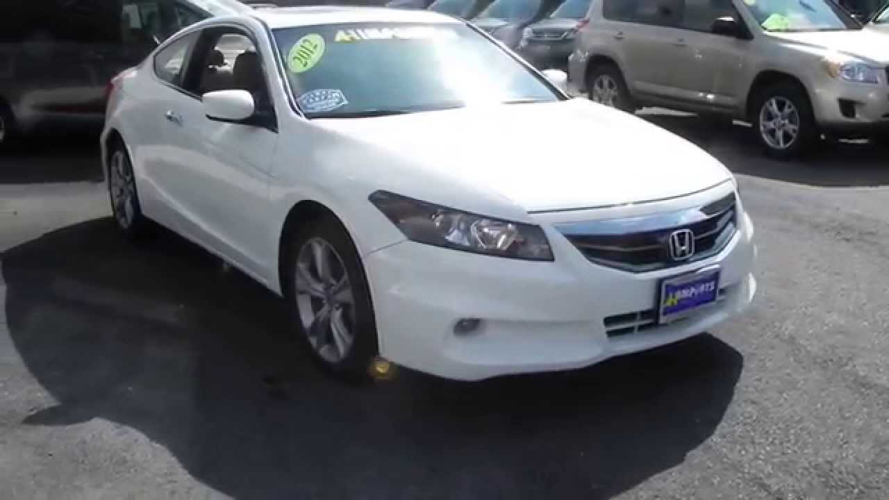 A 1 Imports 2012 Honda Accord Coupe Ex L V6 With Navigation Youtube