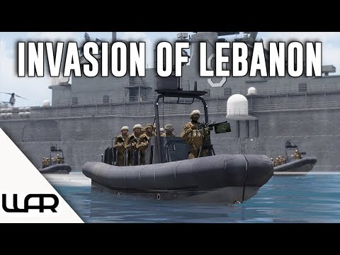 THE INVASION OF LEBANON - MILSIM (Arma 3) - 43rd Marine Expeditionary Unit - Episode 8