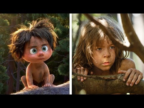 The Good Dinosaur Characters In Real Life | All Characters 2017