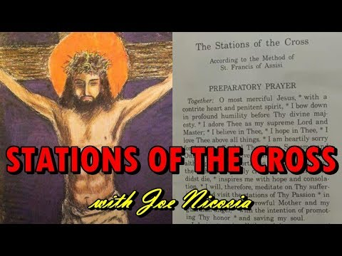 LENTEN STATIONS OF THE CROSS with Joe Nicosia