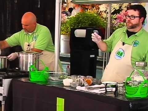 Pepper Jelly Canning Demonstration
