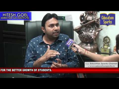 EDUCATION SPARKS TEAM INTERVIEWED GCI INSTITUTE PATIALA