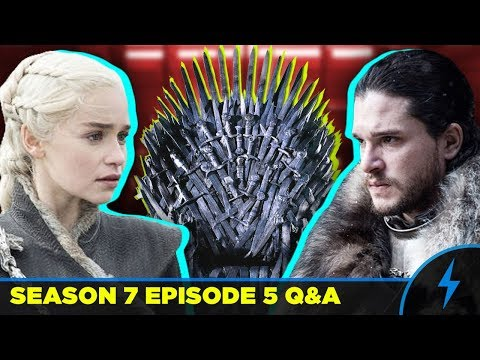 Game of Thrones - WHO'S THE RIGHTFUL HEIR? - Season 7 Episode 5 Q&A - (Jon vs Daenerys)