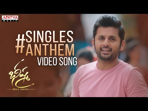 Bheeshma Singles Anthem Video Song |  Nithiin, Rashmika | Venky Kudumula