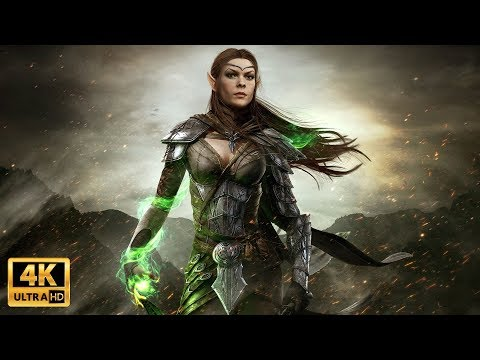 ► THE ELDER SCROLLS ONLINE Cinematic Movie (4K60) GREYMOOR