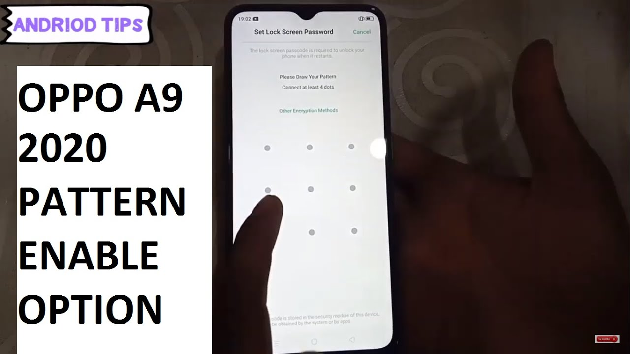 Best Android Phones 2020.Oppo A9 2020 Pattern Enable Option Best Android Phone
