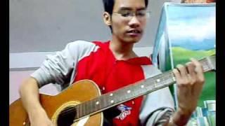 Hướng dẫn chơi guitar Bức tường || Cơn mưa hoang dã [cover by T5Q]