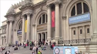 видео Музеи Нью-Йорка
