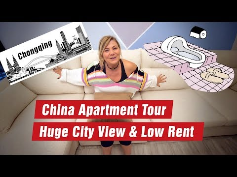 Living in Chongqing - Apartment Tour with Amelia