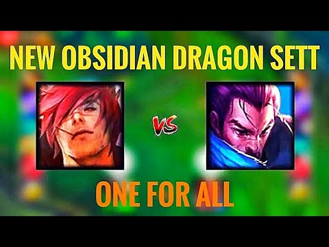 NEW OBSIDIAN DRAGON SETT (ONE FOR ALL 2020)