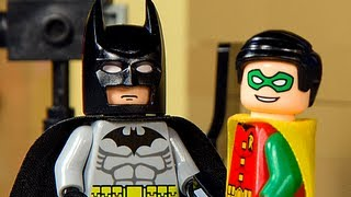 Lego Batman's Reaction to Ben Affleck's Casting