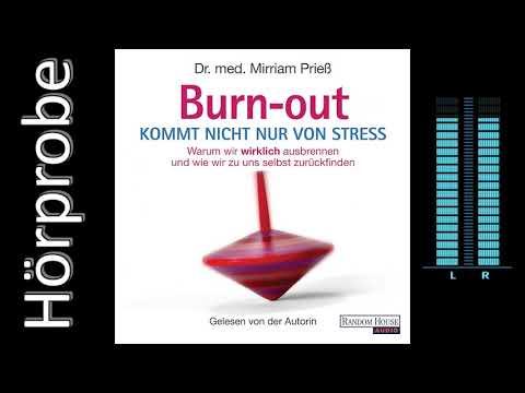 Burnout kommt nicht nur von Stress YouTube Hörbuch Trailer auf Deutsch