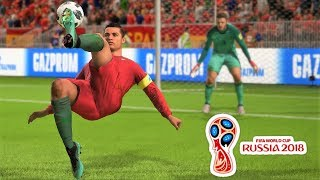 FIFA 18 WORLD CUP GOALS AND SKILLS COMPILATION #1