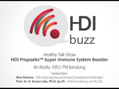 "HDI Buzz - Talk Show @iRadio Bandung ""HDI Propoelix™"""