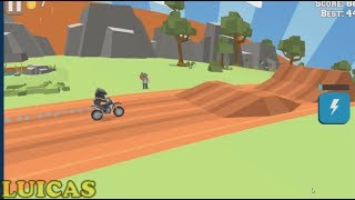 Blocky Trials Juego Gratis PC Motos