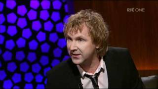 "Jason Byrne talks about his childhood and ""special eye"""