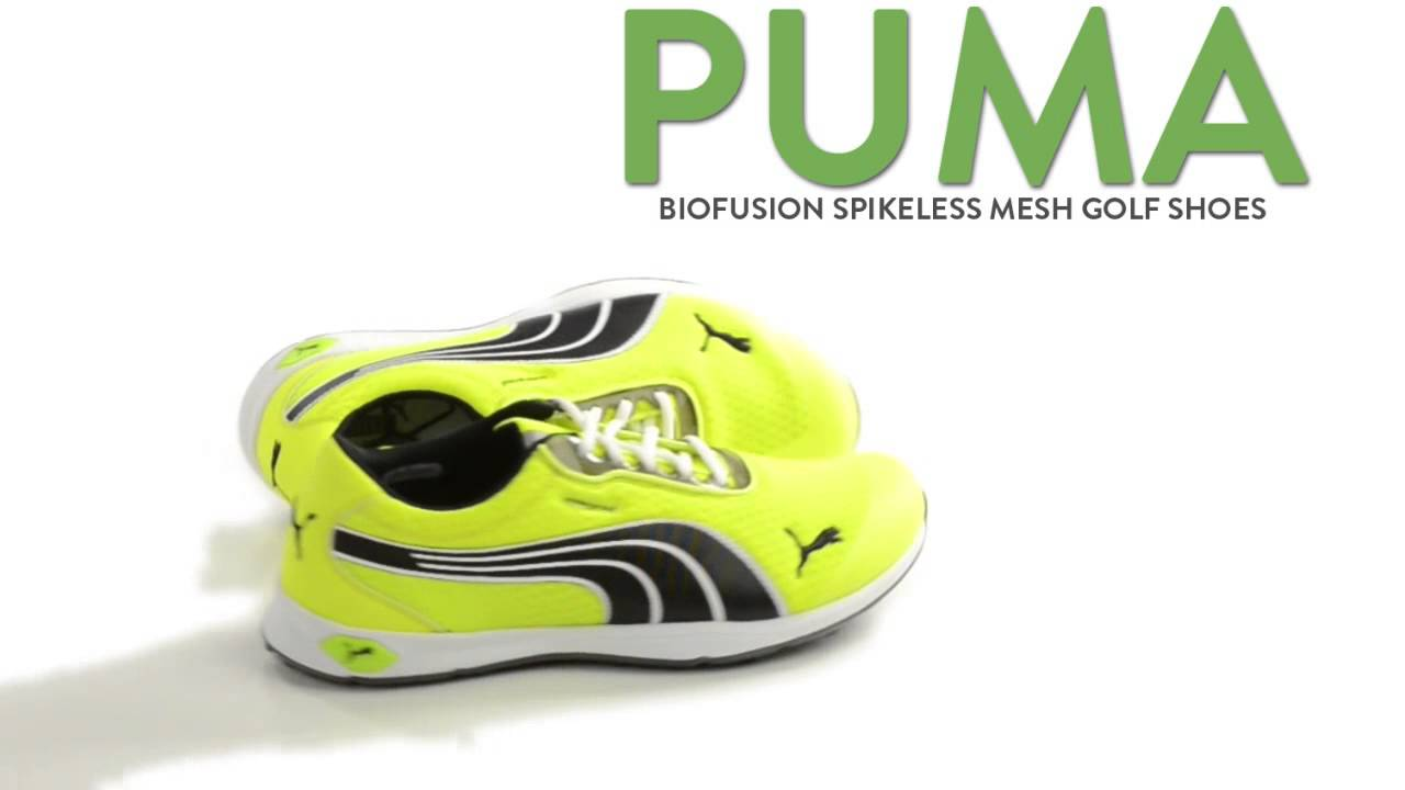 Puma Biofusion Spikeless Mesh Golf Shoes (For Men) - YouTube 60d461738dee